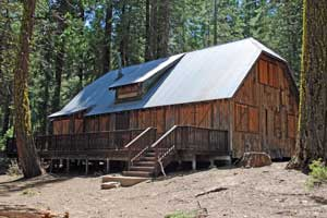 Photo of Harvey West Cabin, Eldorado National Forest, CA