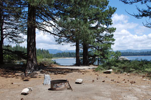 Camino Cove Campground, Union Valley Reservoir, Crystal Basin, CA