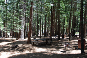 Fashoda Campground, Union Valley Reservoir, Crystal Basin, CA