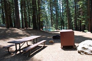Jones Fork Campground, Union Valley Reservoir, Crystal Basin, CA